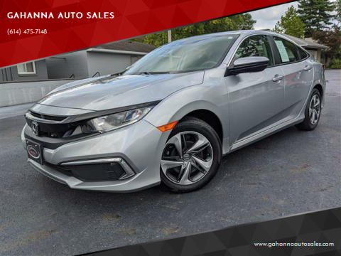 2019 Honda Civic for sale at GAHANNA AUTO SALES in Gahanna OH