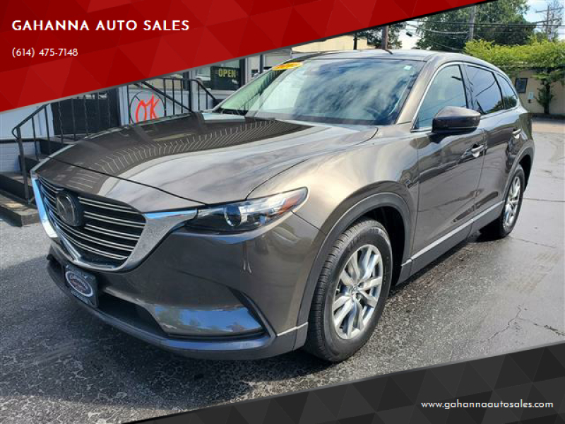 2018 Mazda CX-9 for sale at GAHANNA AUTO SALES in Gahanna OH