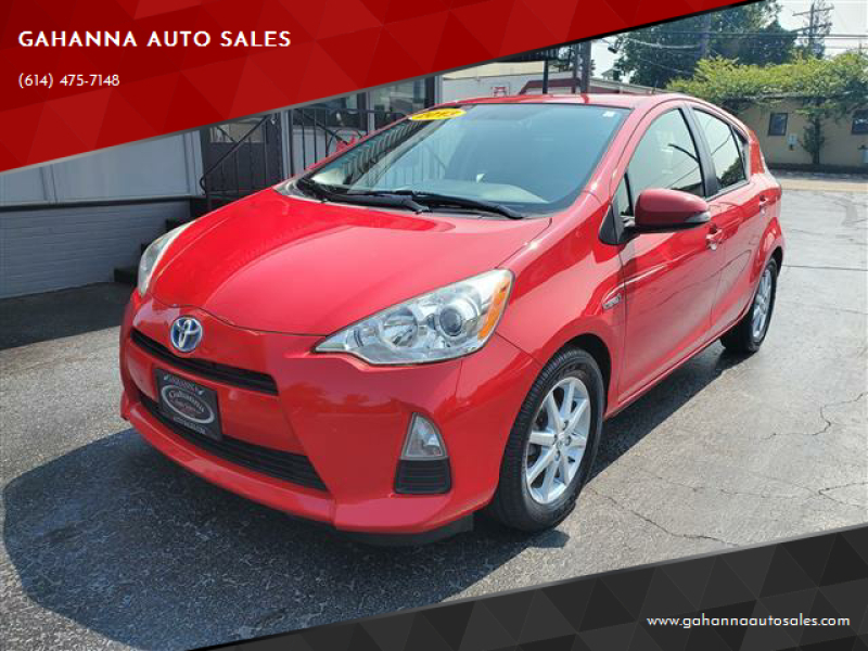 2013 Toyota Prius c for sale at GAHANNA AUTO SALES in Gahanna OH