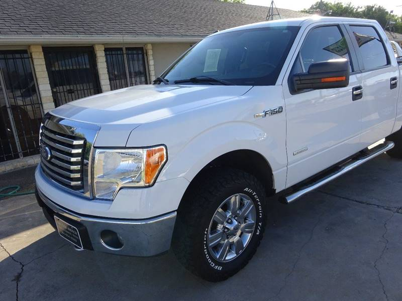 2012 Ford F-150 4x4 XLT 4dr SuperCrew Styleside 5.5 ft. SB - Corpus Christi TX