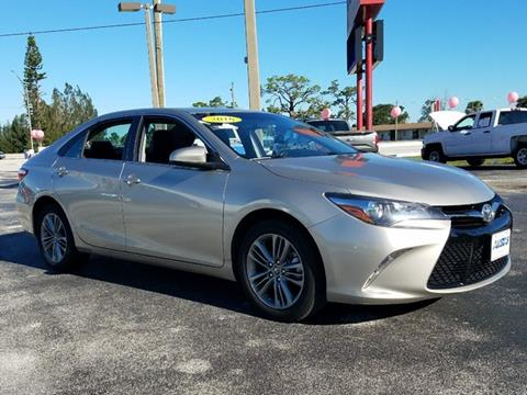 2016 Toyota Camry for sale in Sebring, FL