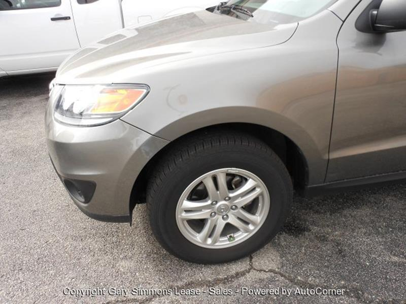 2012 Hyundai Santa Fe for sale at Gary Simmons Lease - Sales in Mckenzie TN