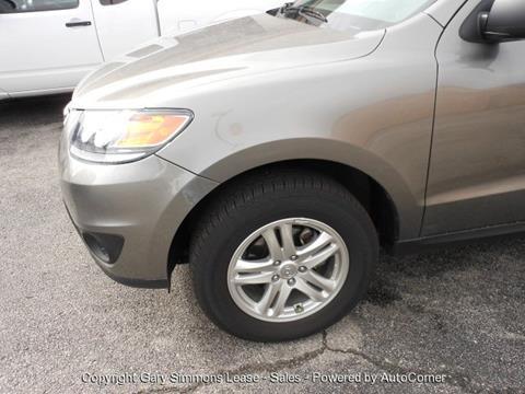 2012 Hyundai Santa Fe for sale at Gary Simmons Lease - Sales in Mckenzie TN