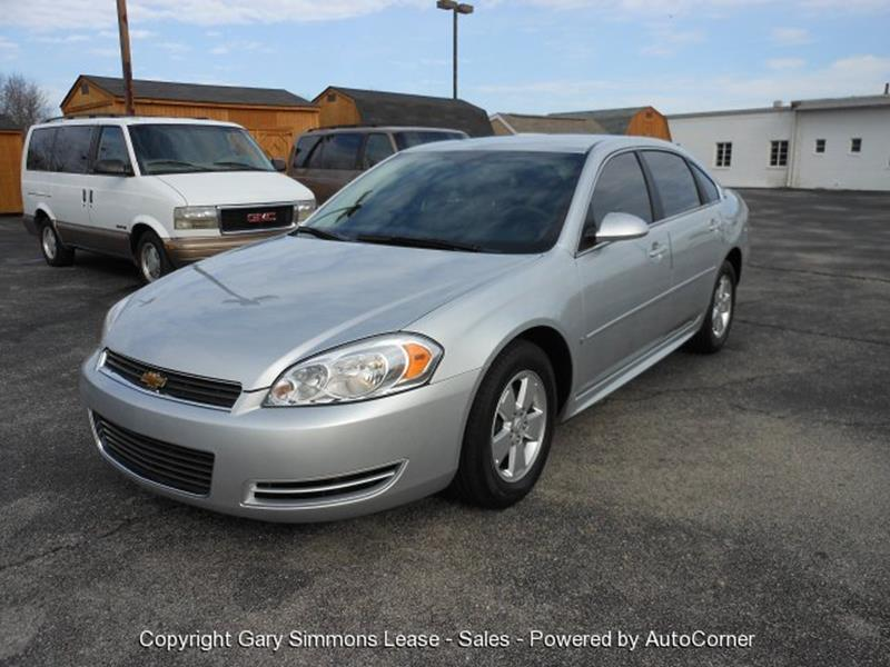 2009 Chevrolet Impala for sale at Gary Simmons Lease - Sales in Mckenzie TN