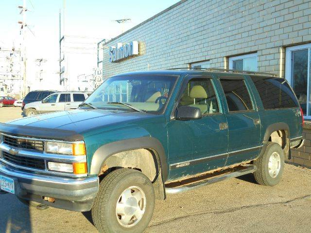 1998 Chevrolet Suburban for sale at Salmon Automotive Inc. in Tracy MN