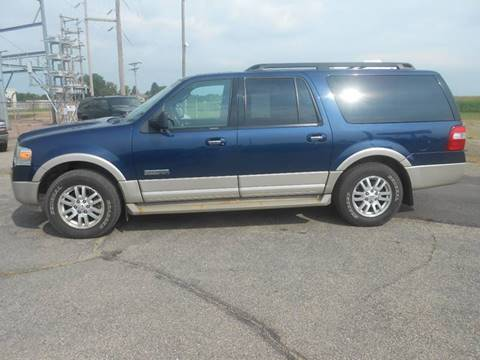 2007 Ford Expedition EL for sale at Salmon Automotive Inc. in Tracy MN