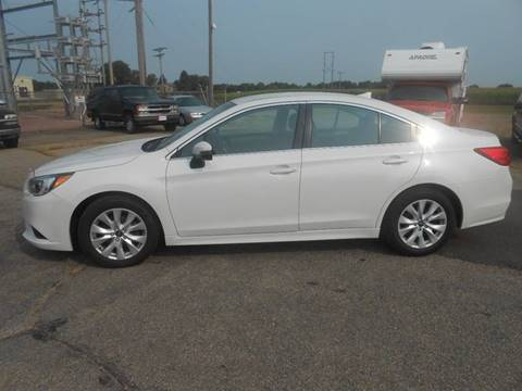 2016 Subaru Legacy for sale at Salmon Automotive Inc. in Tracy MN