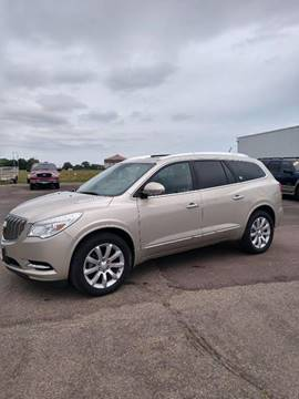 2015 Buick Enclave for sale at Salmon Automotive Inc. in Tracy MN