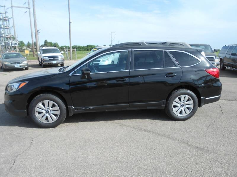 2017 Subaru Outback for sale at Salmon Automotive Inc. in Tracy MN