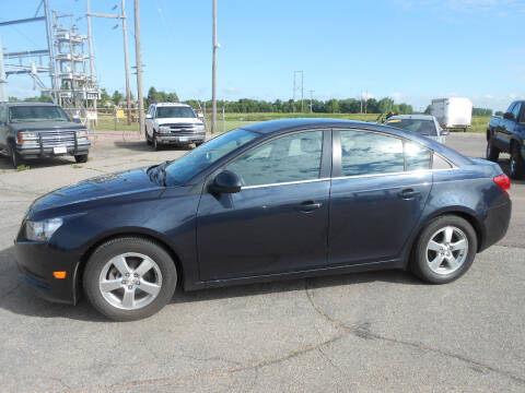 2014 Chevrolet Cruze for sale at Salmon Automotive Inc. in Tracy MN