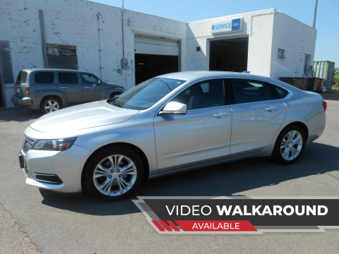 2015 Chevrolet Impala for sale at Salmon Automotive Inc. in Tracy MN