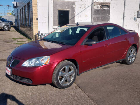 2008 Pontiac G6 for sale at Salmon Automotive Inc. in Tracy MN