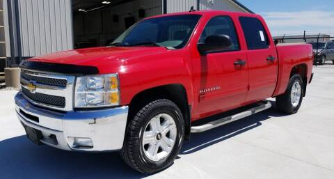 2012 Chevrolet Silverado 1500 for sale at Salmon Automotive Inc. in Tracy MN