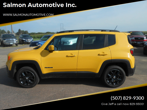 2016 Jeep Renegade for sale at Salmon Automotive Inc. in Tracy MN