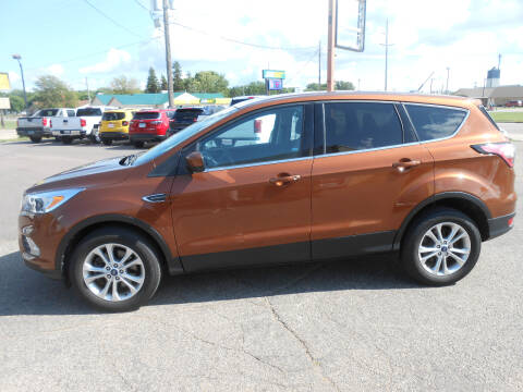 2017 Ford Escape for sale at Salmon Automotive Inc. in Tracy MN