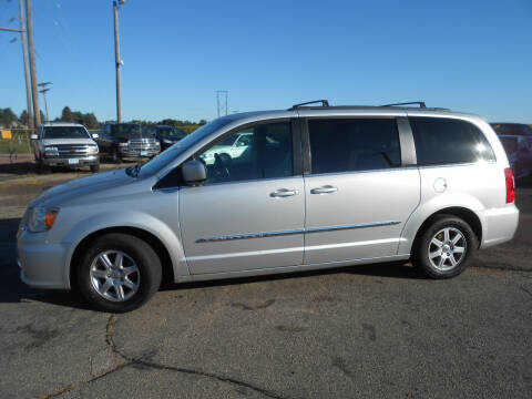 2012 Chrysler Town and Country for sale at Salmon Automotive Inc. in Tracy MN