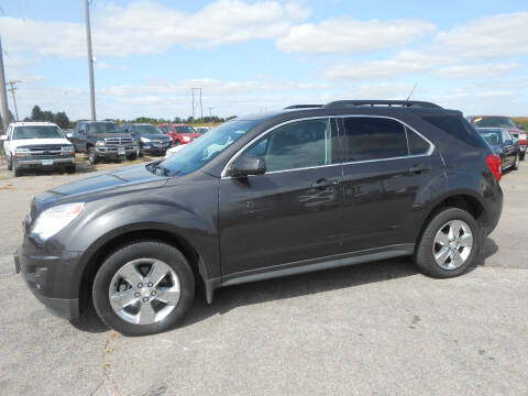 2013 Chevrolet Equinox for sale at Salmon Automotive Inc. in Tracy MN