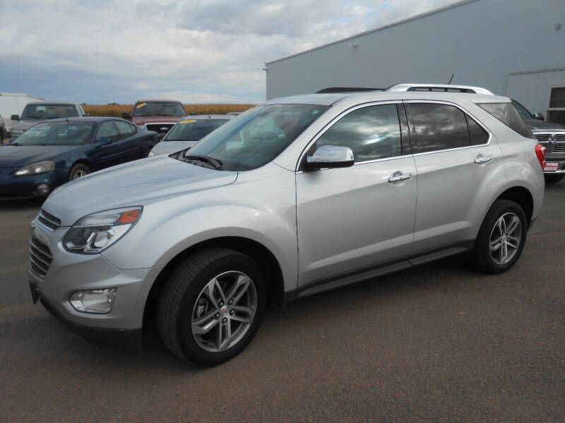 2016 Chevrolet Equinox for sale at Salmon Automotive Inc. in Tracy MN