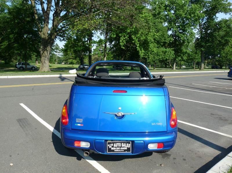 2005 Chrysler PT Cruiser 2dr Touring Turbo Convertible - Roselle NJ