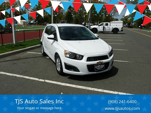 2015 Chevrolet Sonic for sale at TJS Auto Sales Inc in Roselle NJ