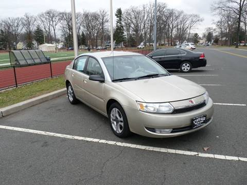 2003 Saturn Ion for sale at TJS Auto Sales Inc in Roselle NJ