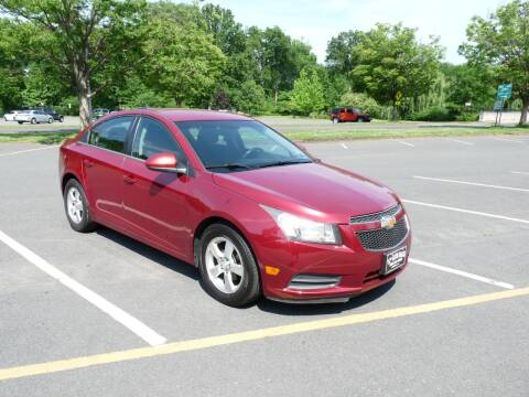 2012 Chevrolet Cruze for sale at TJS Auto Sales Inc in Roselle NJ