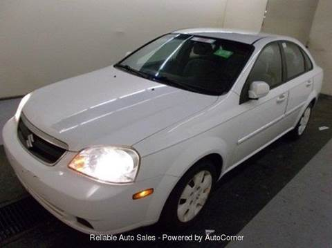 2007 Suzuki Forenza for sale at Reliable Auto Sales in Roselle NJ