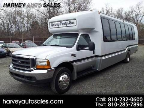 2001 Ford F550 PARTY BUS for sale at Harvey Auto Sales, LLC. in Flint MI