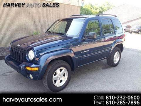 2001 jeep liberty value