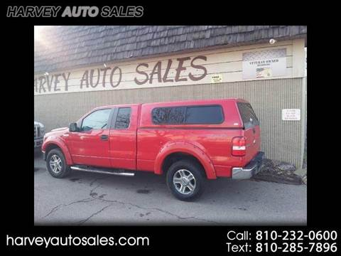 2007 Ford F-150 for sale at Harvey Auto Sales, LLC. in Flint MI