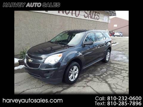 2012 Chevrolet Equinox for sale at Harvey Auto Sales, LLC. in Flint MI