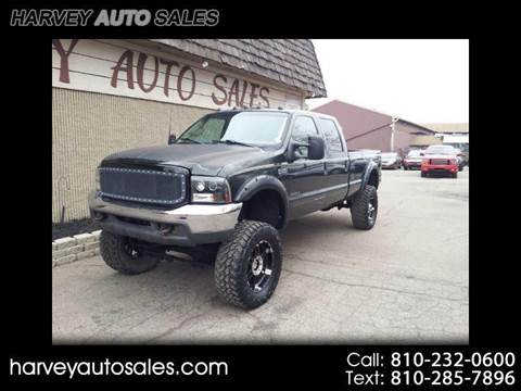 2000 Ford F-250 Super Duty for sale at Harvey Auto Sales, LLC. in Flint MI