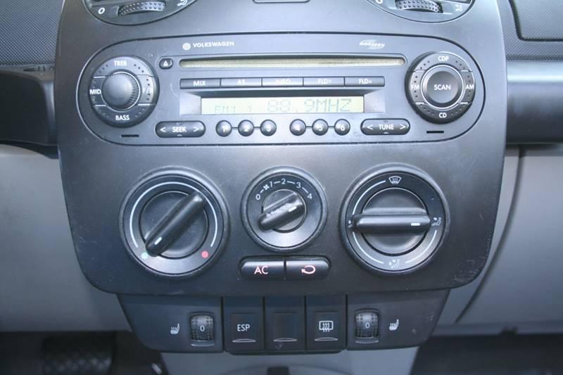 2005 Volkswagen New Beetle 2dr GLS 1.8T Turbo Convertible - Rocklin CA