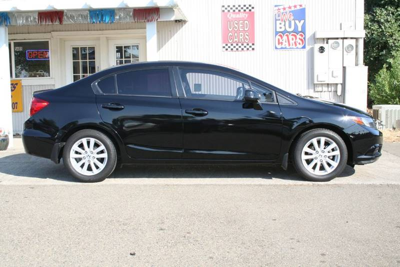 2012 Honda Civic EX 4dr Sedan - Rocklin CA