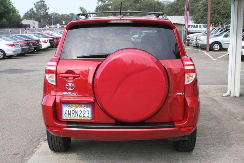 2011 Toyota RAV4 4x4 4dr SUV - Rocklin CA