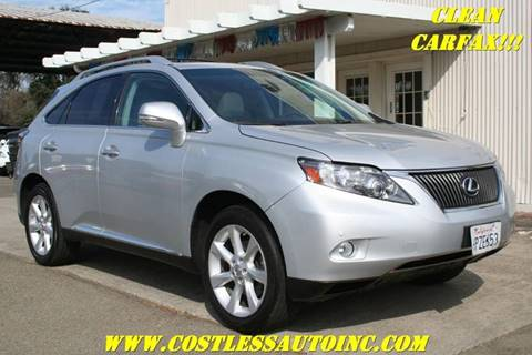 2011 Lexus RX 350 for sale in Rocklin, CA