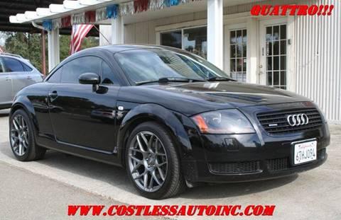 2002 Audi TT for sale in Rocklin, CA