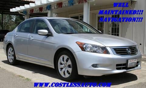 2009 Honda Accord for sale at Cost Less Auto Inc. in Rocklin CA