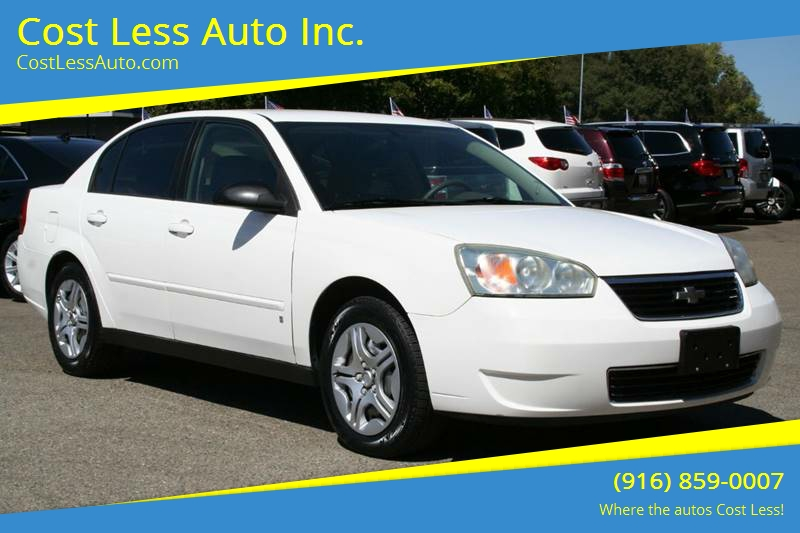 Charming 2007 Chevrolet Malibu LS Fleet 4dr Sedan V6   Rocklin CA