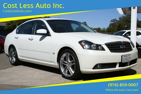 2006 Infiniti M35 For Sale In California Carsforsale