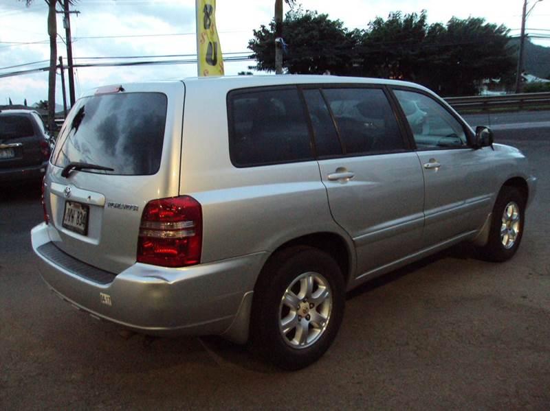 2002 Toyota Highlander Limited 2WD 4dr SUV - Kaneohe HI