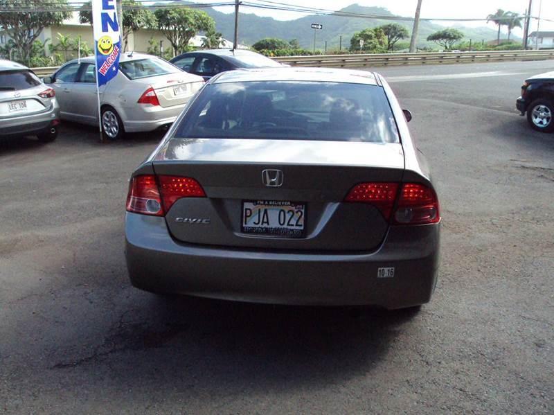 2007 Honda Civic LX 4dr Sedan (1.8L I4 5A) - Kaneohe HI