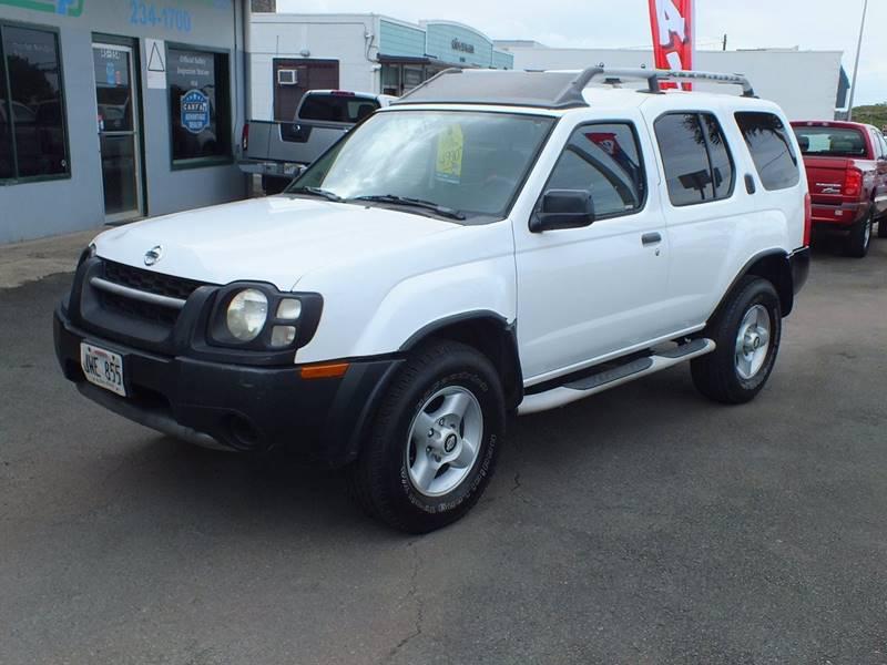 2002 Nissan Xterra XE V6 2WD 4dr SUV   Kaneohe HI