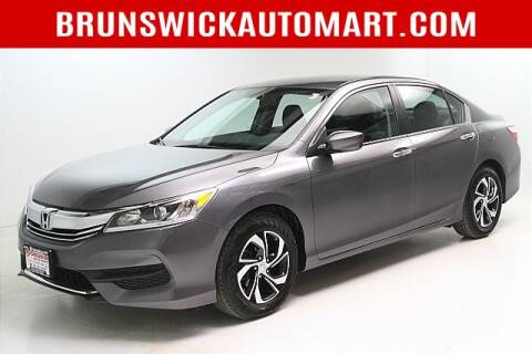 2017 Honda Accord for sale at Brunswick Auto Mart in Brunswick OH