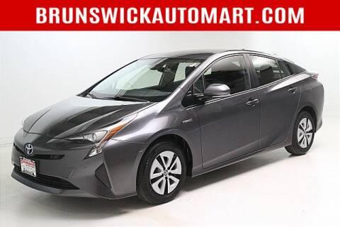 2018 Toyota Prius for sale at Brunswick Auto Mart in Brunswick OH