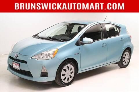 2013 Toyota Prius c for sale at Brunswick Auto Mart in Brunswick OH