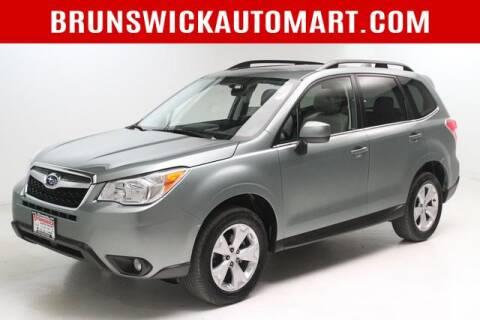 2016 Subaru Forester for sale at Brunswick Auto Mart in Brunswick OH