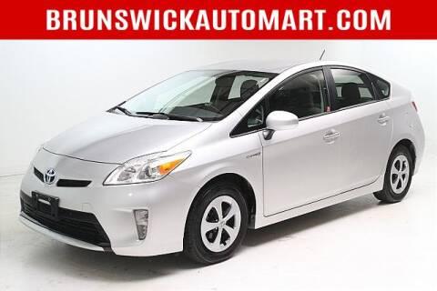 2015 Toyota Prius for sale at Brunswick Auto Mart in Brunswick OH