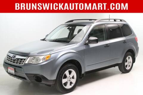 2012 Subaru Forester for sale at Brunswick Auto Mart in Brunswick OH