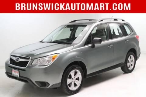 2015 Subaru Forester for sale at Brunswick Auto Mart in Brunswick OH